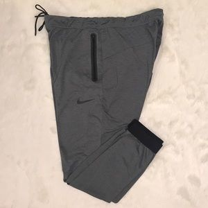 Heather NIKE Dri Fit Performance Fabric Joggers